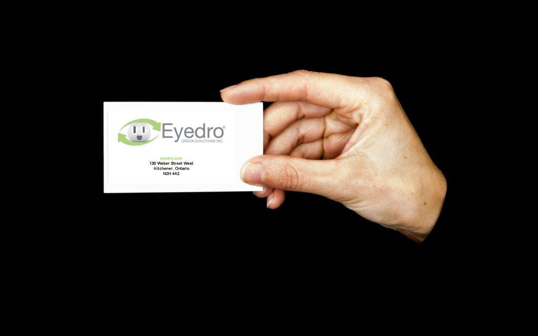 New MyEyedro Feature: Custom Business Card