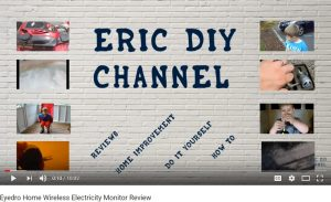 Eyedro video review eric DIY