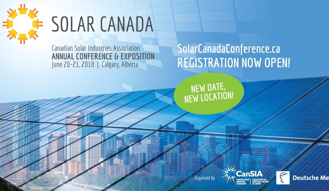 Visit Eyedro June 20-21 in Calgary at the Solar Canada Conference 2018