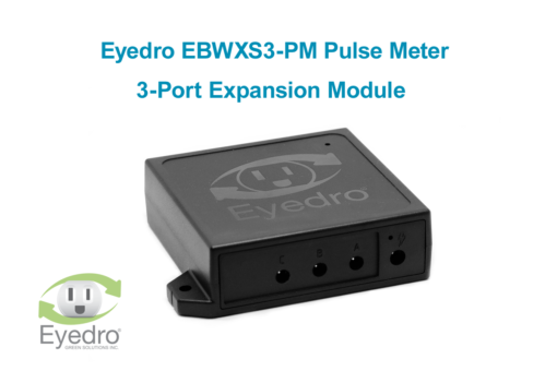 EBWXS3-PM 3-port pulse meter expansion module