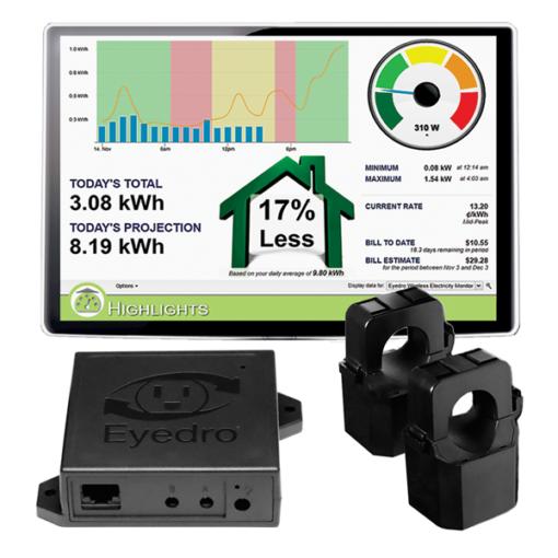 Eyedro home energy monitor EHEM1-LV