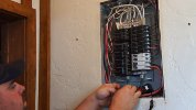 Eyedro home system installation in electrical panel