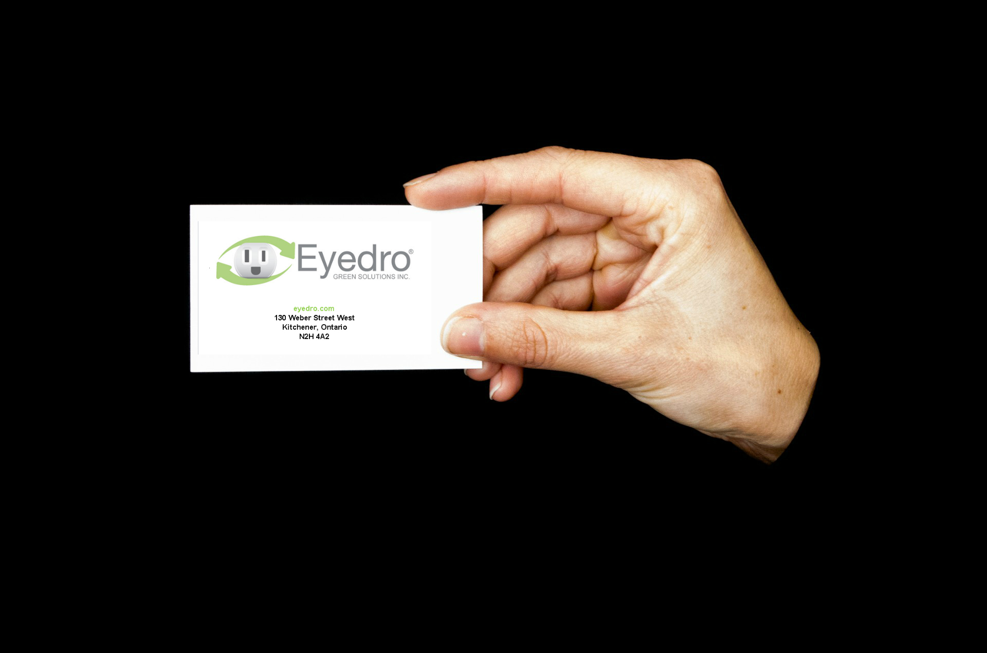 New MyEyedro Feature: Custom Business Card - Eyedro