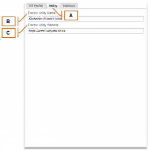 MyEyedro Client – Utility Tab