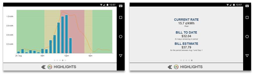 Screenshot of MyEyedro Client - Mobile Highlights
