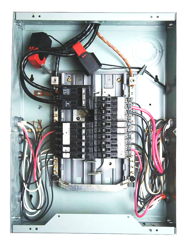Residential electrical panel example - Eyedro